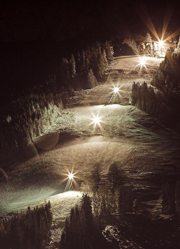 Nachtskilaufen Pizol